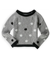 Justice Girls Polka Dot Sequin Knit Sweater 633 5