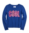 Justice Girls Happy Knit Sweater 620 18 1/2