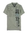 Ecko Unltd. Mens Eu 72 Official Trdmrk Crest Rugby Polo Shirt