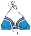 Lucky Brand Womens Fringe Halter Swim Top