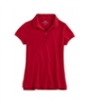 Justice Girls School Uniform Polo Shirt 668 8 1/2