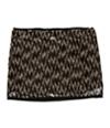 Rachel Roy Womens Sequined Mini Skirt
