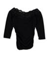 Bcx Womens Lace Basic T-Shirt
