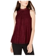 Bcx Womens Lace Pullover Blouse