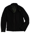 I-N-C Mens Wool Full Zip Field Jacket