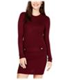 Bcx Womens Ribbed Sweater Dress