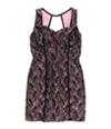 Bcx Womens Lace Sequin Tank Dress