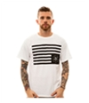 Black Scale Mens The Black Rebels Graphic T-Shirt