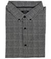 Alfani Mens Dalton Texture-Print Button Up Shirt