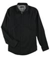 Alfani Mens Durocher Textured Button Up Shirt