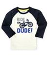 Gymboree Boys Ride On Embellished T-Shirt