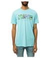 Staple Mens The Staple Monster Graphic T-Shirt