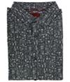 Alfani Mens Slim-Fit Printed Button Up Shirt