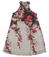 Tags Weekly Womens Floral Halter Neck Shift Dress