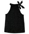Style & Co. Womens Ditsy Zebra Tank Top