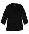 Ralph Lauren Womens Crepe Tunic Blouse
