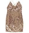 Ralph Lauren Womens Sequined Bodycon Dress