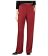 Leyden Womens Piped Casual Wide Leg Pants