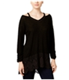 Style & Co. Womens High-Low Knit Blouse