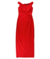 Ralph Lauren Womens Jersey Gown Dress