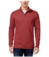 Club Room Mens Quarter-Zip Sweatshirt melone M