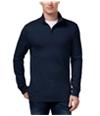 Club Room Mens Quarter-Zip Sweatshirt navyblue M