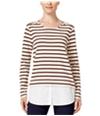 Style & Co. Womens Layered Pullover Blouse