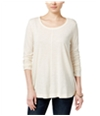 Style & Co. Womens Seamed Basic T-Shirt