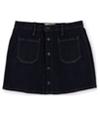 Ralph Lauren Womens Button-Front Mini Skirt