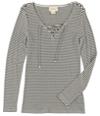 Ralph Lauren Womens Striped Knit Blouse
