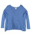 Ralph Lauren Womens Waffle-Knit Basic T-Shirt