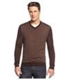 Club Room Mens Merino Wool Herringbone Pullover Sweater
