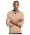 Club Room Mens Merino Wool V-Neck Pullover Sweater