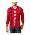 Club Room Mens Argyle Pullover Sweater