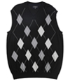 Club Room Mens Merino Wool Argyle Sweater Vest