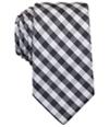 Perry Ellis Mens Williams Check Classic Self-Tied Necktie