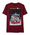 Jem Mens Rebel Base Poster Graphic T-Shirt