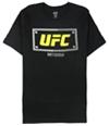 Ufc Mens Pittsburgh Steel City Bolt Graphic T-Shirt