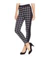 Material Girl Womens Printed Tuxedo Casual Trouser Pants