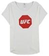 Ufc Mens Octagon Logo Graphic T-Shirt