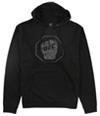 Ufc Mens Distressed Logo Hoodie Sweatshirt