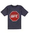 Ufc Boys Distressed Print Graphic T-Shirt