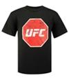 Ufc Boys Distressed Logo Graphic T-Shirt
