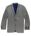 I-N-C Mens Pinstripe Two Button Blazer Jacket