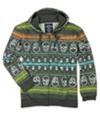 Ecko Unltd. Mens Neon Group Skull Print Hoodie Sweatshirt chrhtrgy XS