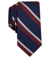Bar Iii Mens Denton Stripe Self-Tied Necktie