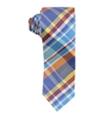 Bar Iii Mens Higgins Plaid Self-Tied Necktie