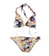 Bar Iii Womens Bombay Monet 2 Piece Bikini