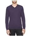 Calvin Klein Mens Merino V-Neck Pullover Sweater