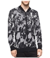 Calvin Klein Mens Abstract Print Knit Sweater